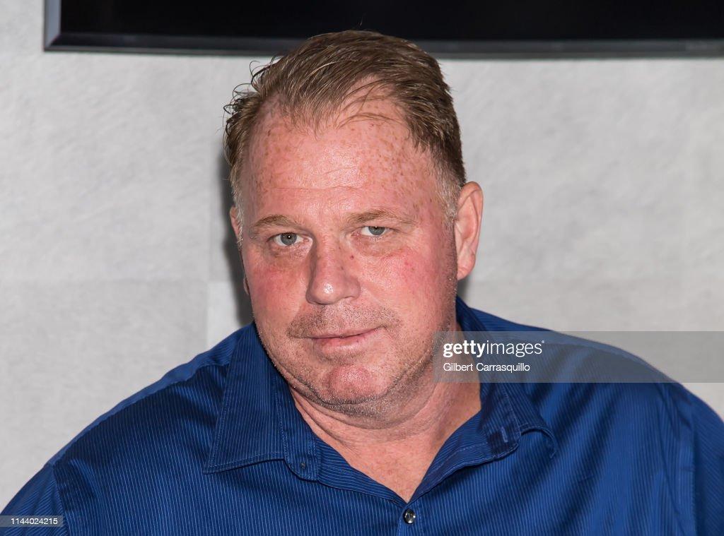 Rocco's Collision Presents Celebrity Boxing 68: Thomas Markle Jr v Nacho Press Conference : Nachrichtenfoto