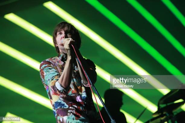 02 Thomas Mars of Phoenix performs at Electric Picnic Festival at Stradbally Hall Estate on September 2 2017 in Laois Ireland