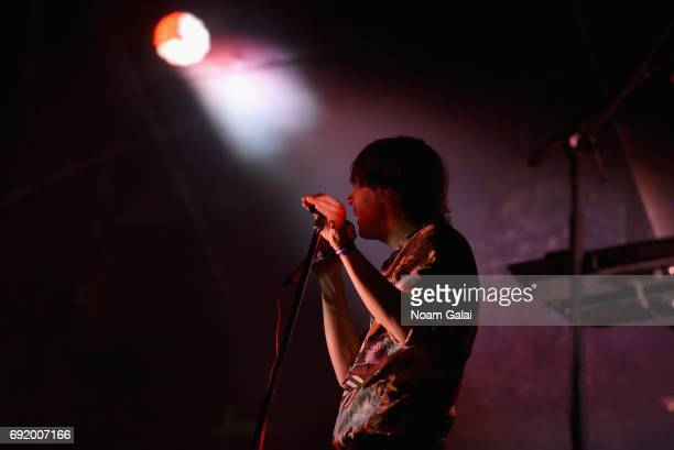 Thomas Mars of Phoenix performs onstage during the 2017 Governors Ball Music Festival - Day 2 at Randall's Island on June 3, 2017 in New York City.