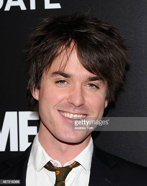 Thomas Matthews attends the 'Mad Men' New York special screening at The Museum of Modern Art on March 22 2015 in New York City