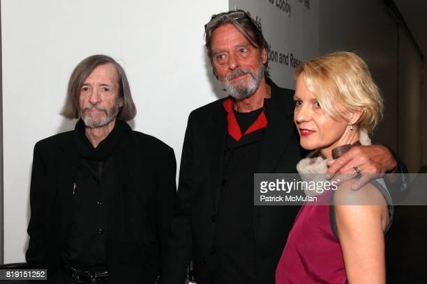 Thomas McEvilley Ulay and Lena Balant attend Opening Night Party of MARINA ABRAMOVIC THE ARTIST IS PRESENT at Museum of Modern Art on March 9 2010 in...