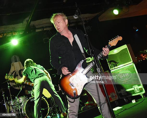 Thomas McNeice and Andy Gill of Gang Of Four perform at 40 Watt Club on October 26 2015 in Athens Georgia