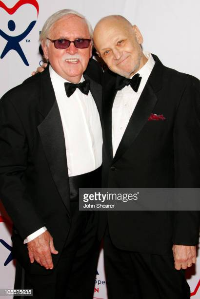 Thomas Meehan and Charles Strouse during Annie Opening Night to Benefit CASA of Los Angeles Arrivals at Pantages Theatre in Hollywood California...
