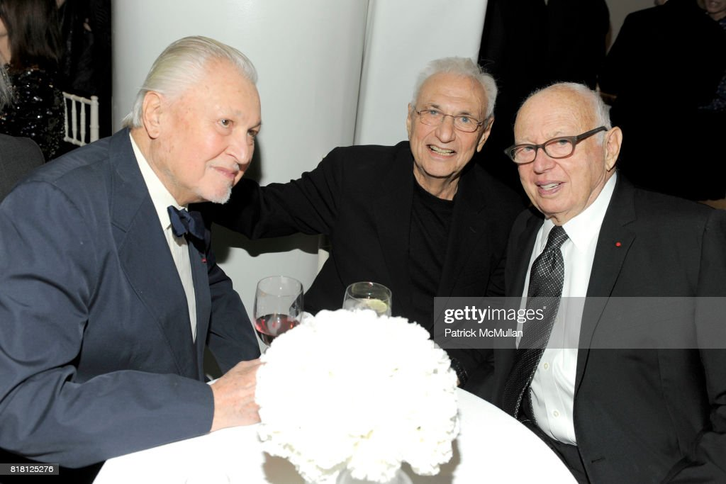 Thomas Messer Frank Gehry And Ellsworth Kelly Attend 2010