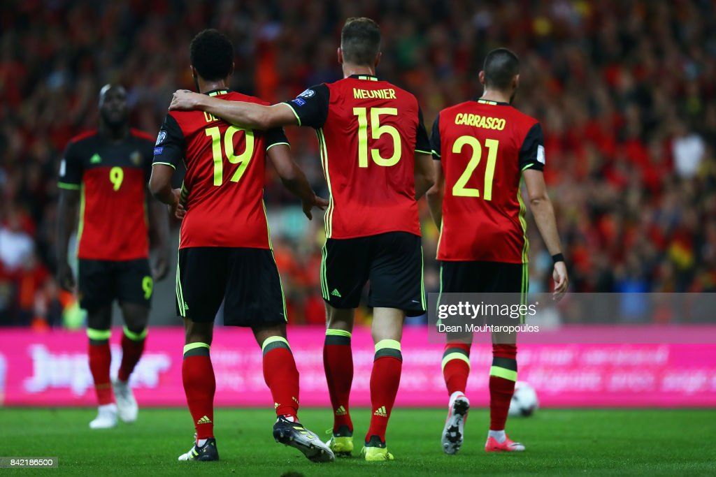 Belgium v Gibraltar - FIFA 2018 World Cup Qualifier : News Photo