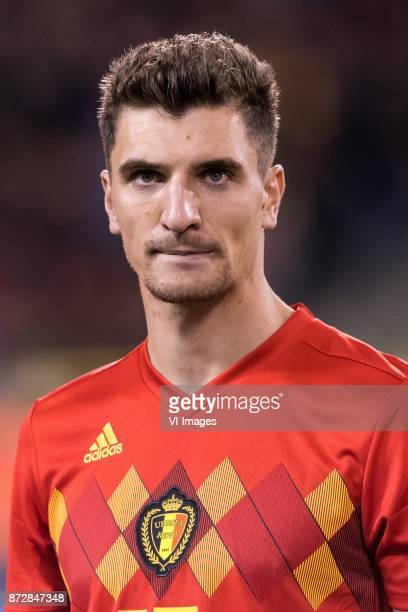 Thomas Meunier of Belgium during the friendly match between Belgium and Mexico on November 10 2017 at the Koning Boudewijn stadium in Brussels Belgium