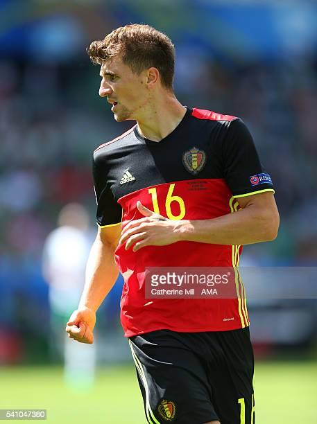 Thomas Meunier of Belgium during the UEFA EURO 2016 Group E match between Belgium and Republic of Ireland at Stade Matmut Atlantique on June 18 2016...