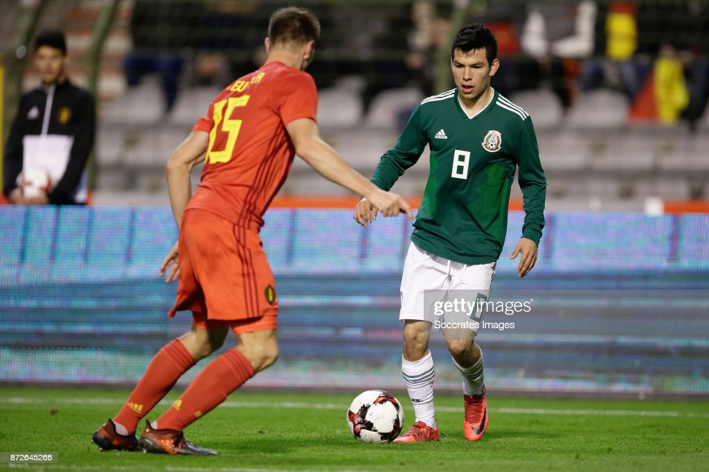 Belgium  v Mexico  -International Friendly : Fotografía de noticias