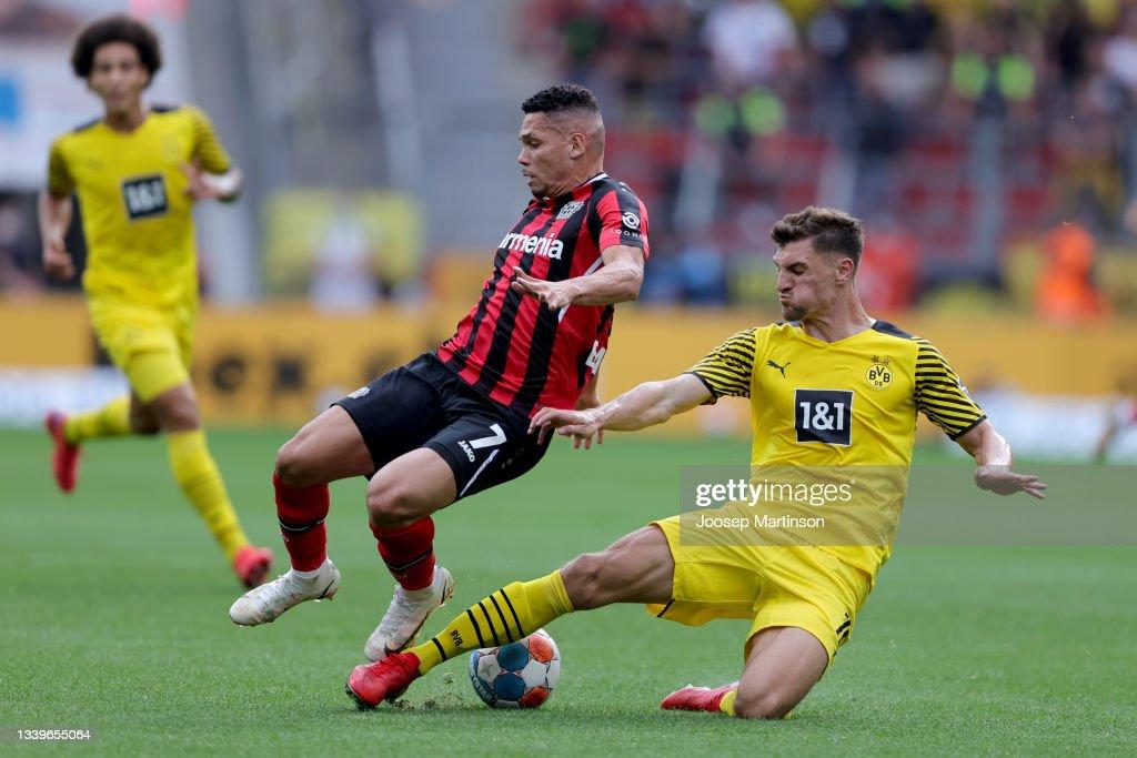 Bayer 04 Leverkusen v Borussia Dortmund - Bundesliga : News Photo