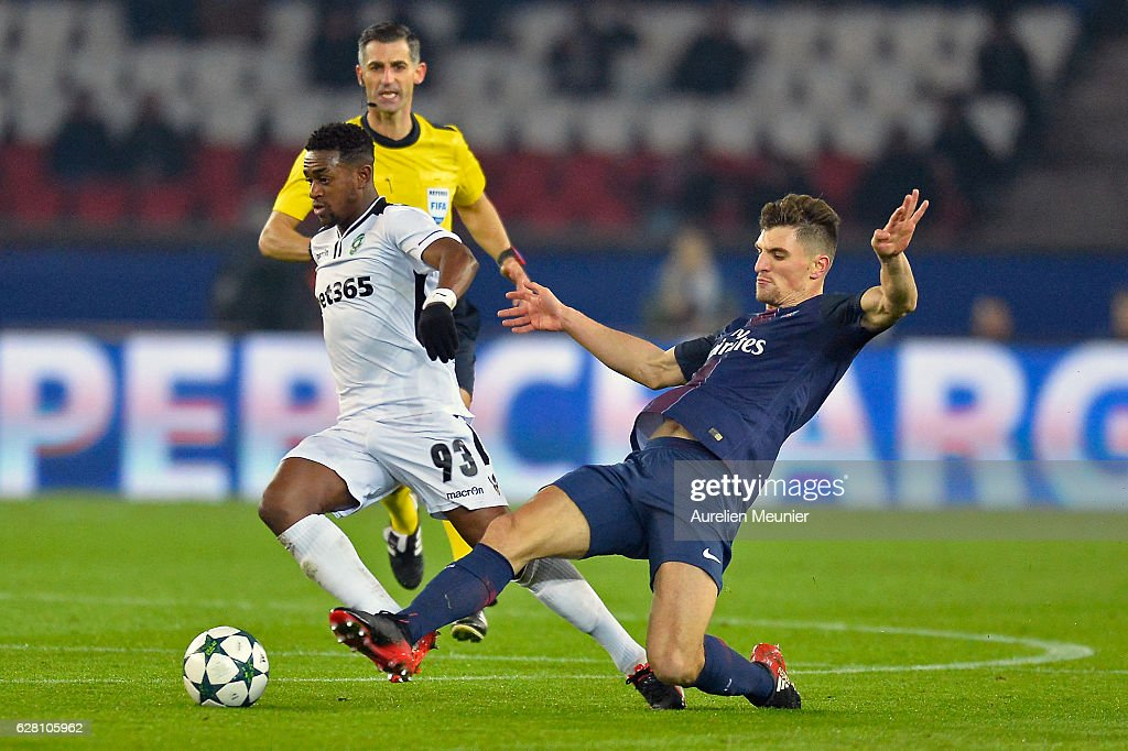 Paris Saint-Germain v PFC Ludogorets Razgrad - UEFA Champions League