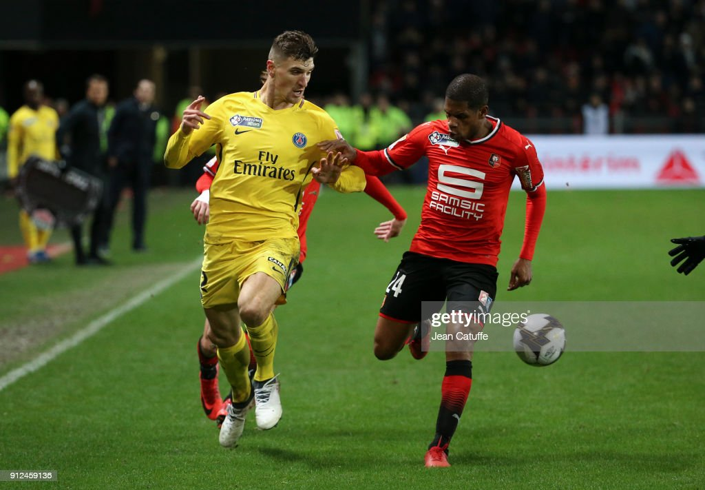 Stade Rennais v Paris Saint Germain - French League Cup