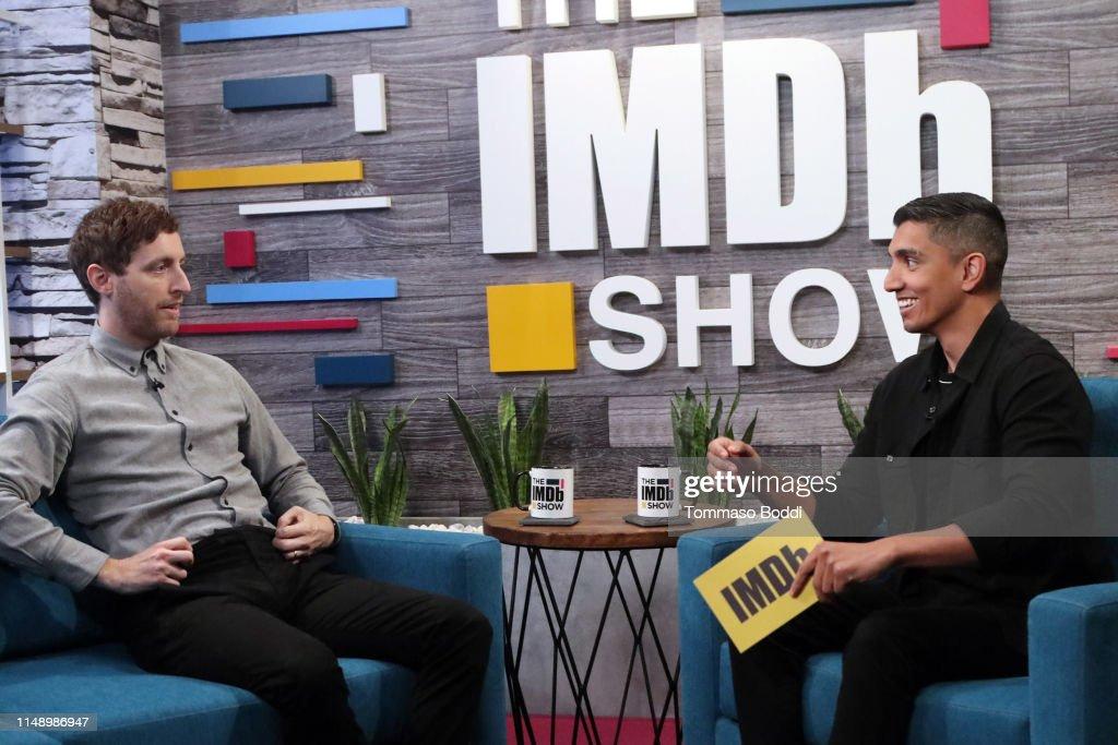 Thomas Middleditch Visits The IMDb Show : News Photo