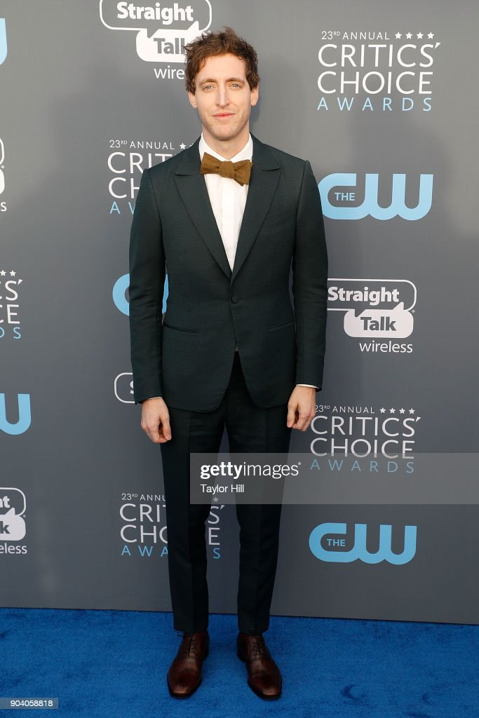 Thomas Middleditch attends the 23rd Annual Critics' Choice Awards at Barker Hangar on January 11, 2018 in Santa Monica, California.