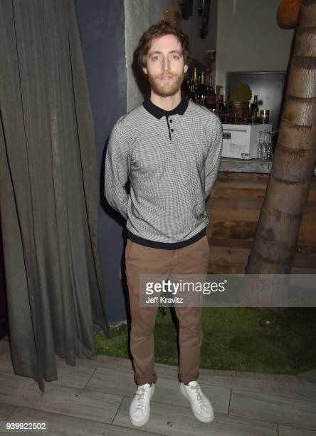 Thomas Middleditch attends the Los Angeles Premiere of Andre The Giant from HBO Documentaries on March 29 2018 in Los Angeles California