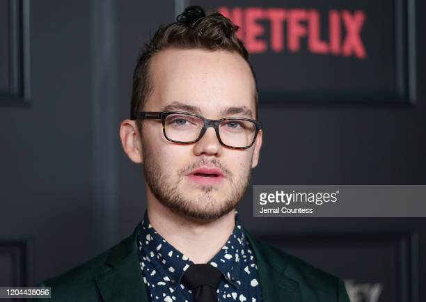 Thomas Mitchell Barnet attends the Locke Key Series Premiere Photo Call at the Egyptian Theatre on February 05 2020 in Hollywood California
