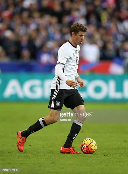 Thomas Müller Fussball Freundschaftsspiel : Frankreich - Deutschland Football friendly match national team France Germany