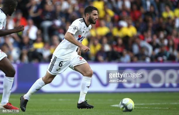 Thomas Monconduit of Amiens during the French Ligue 1 match between Paris Saint Germain and Amiens SC at Parc des Princes on August 5 2017 in Paris...