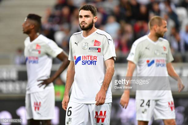 Thomas Monconduit of Amiens during the Ligue 1 match between Amiens and Rennes at Stade de la Licorne on September 26 2018 in Amiens France