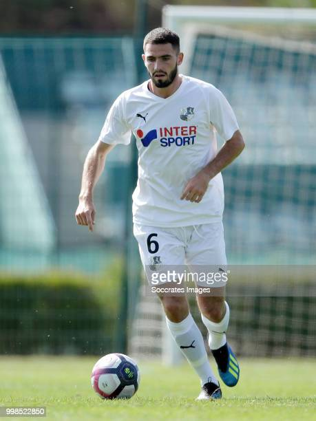 Thomas Monconduit of Amiens SC during the Club Friendly match between Amiens SC v UNFP FC at the Centre Sportif Du Touquet on July 13 2018 in Le...