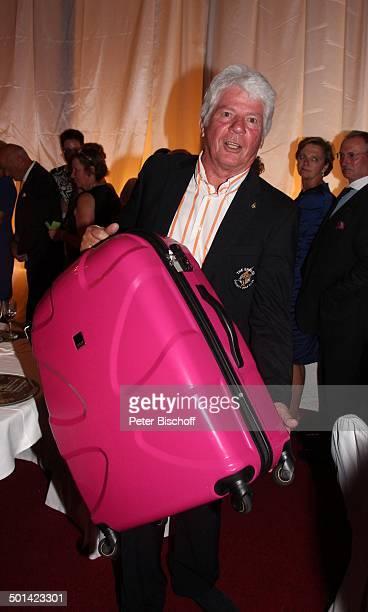 Thomas MStein AbschlussGala nach 20 Eagles Präsidenten Golf CupJubiläumsturnier zu Gunsten Bedürftiger Bad Griesbach Bayern Deutschland Europa Party...