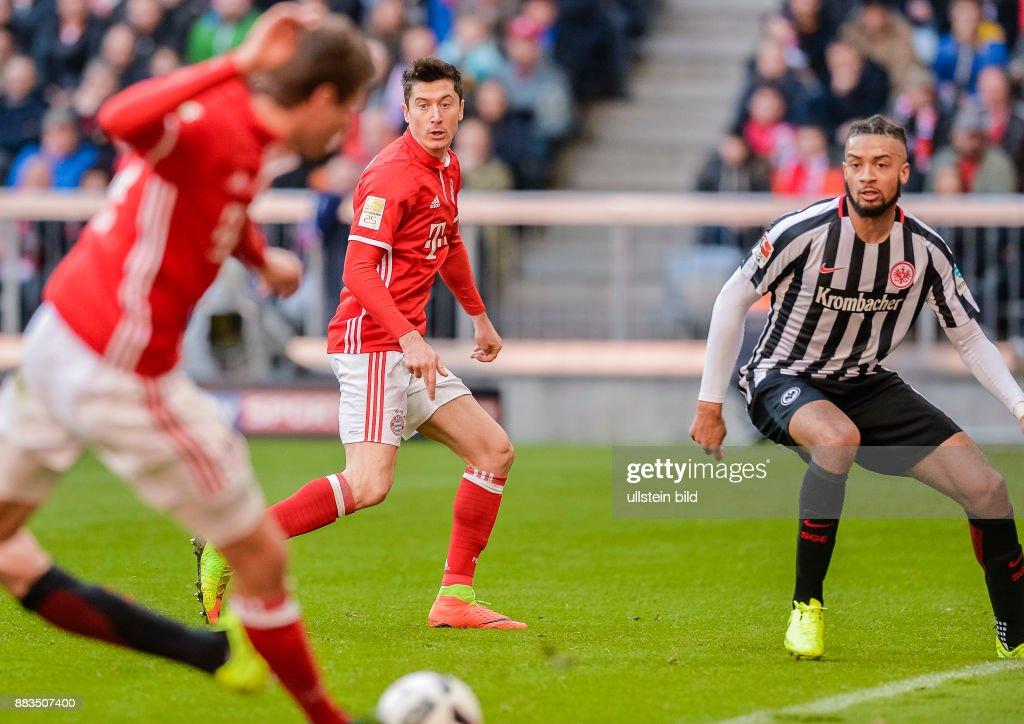 1. Fussball Bundesliga Bayern Muenchen - Eintracht Frankfurt : News Photo
