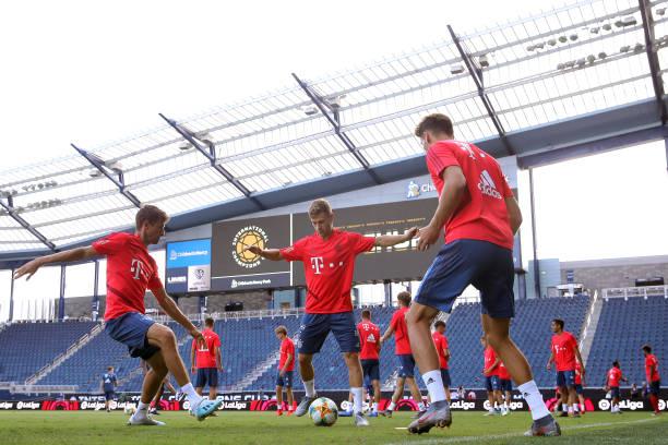 TX: FC Bayern Muenchen Audi Summer Tour 2019 - Day 8