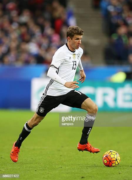 Thomas Mueller Müller Fussball Freundschaftsspiel : Frankreich - Deutschland Football friendly match national team France Germany