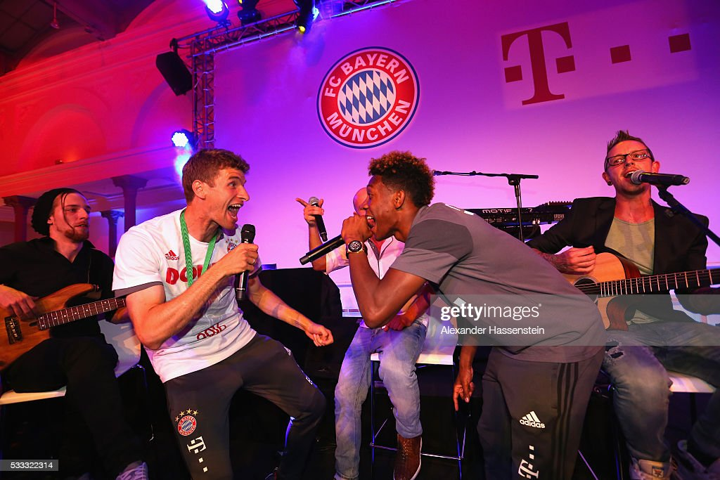 FC Bayern Muenchen Champions Party - DFB Cup Final 2016 : News Photo