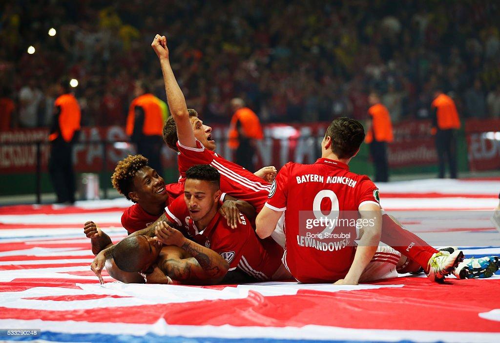 Bayern Muenchen v Borussia Dortmund - DFB Cup Final 2016 : ニュース写真