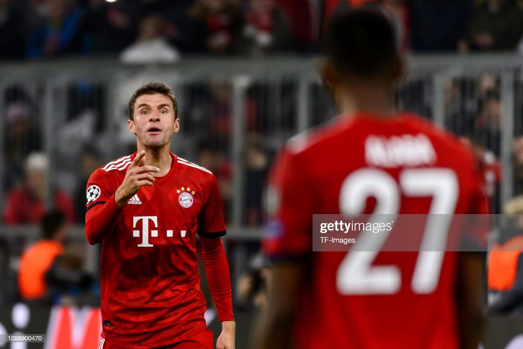 FC Bayern Muenchen v AEK Athens - UEFA Champions League Group E : News Photo