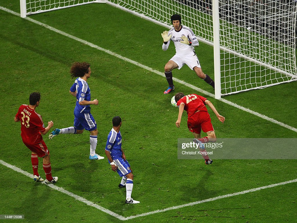 FC Bayern Muenchen v Chelsea FC - UEFA Champions League Final : News Photo