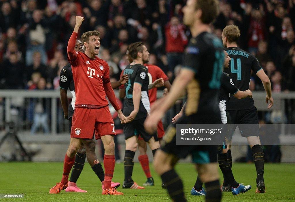 Bayern Munich vs Arsenal FC -UEFA Champions League : News Photo