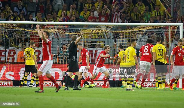 borussia dortmund v fc bayern muenchen dfl supercup 2016 stock photos and pictures getty images. Black Bedroom Furniture Sets. Home Design Ideas