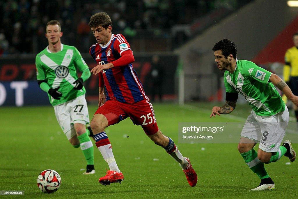 VfL Wolfsburg v FC Bayern Munich - Bundesliga : News Photo