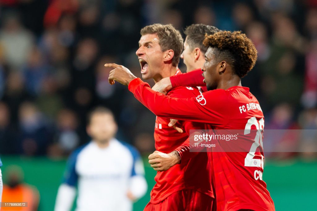 VfL Bochum v Bayern Muenchen - DFB Cup : News Photo