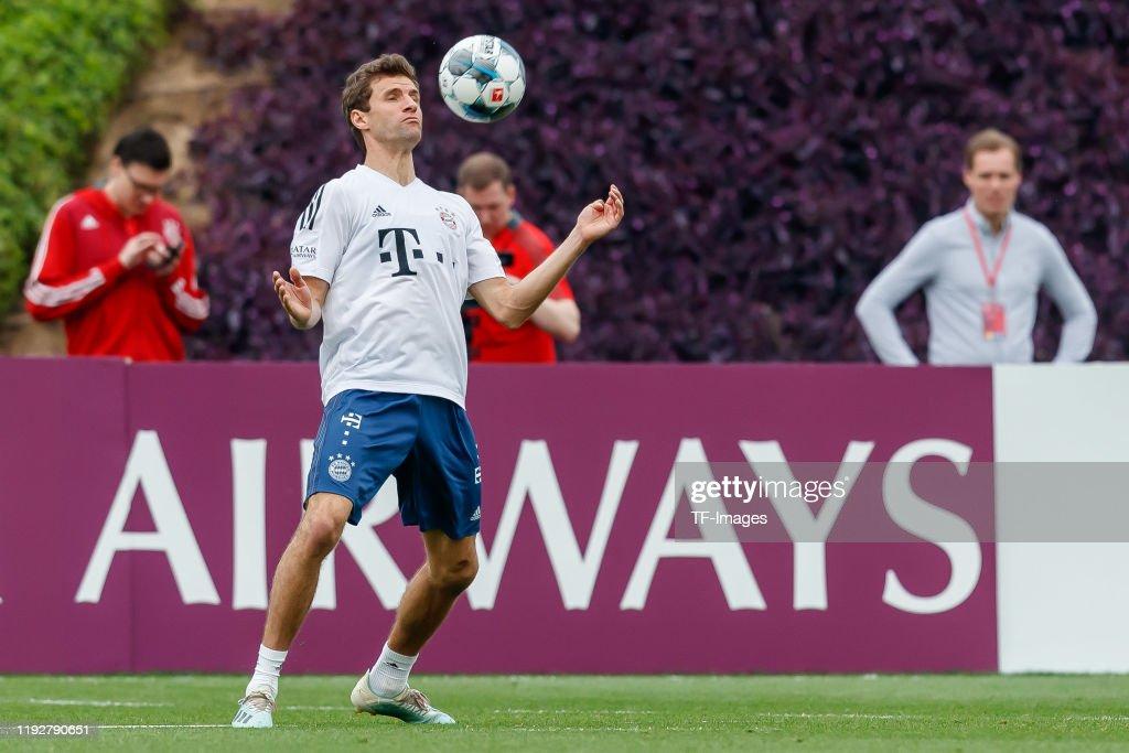 FC Bayern Muenchen Doha Training Camp - Day 6 : News Photo