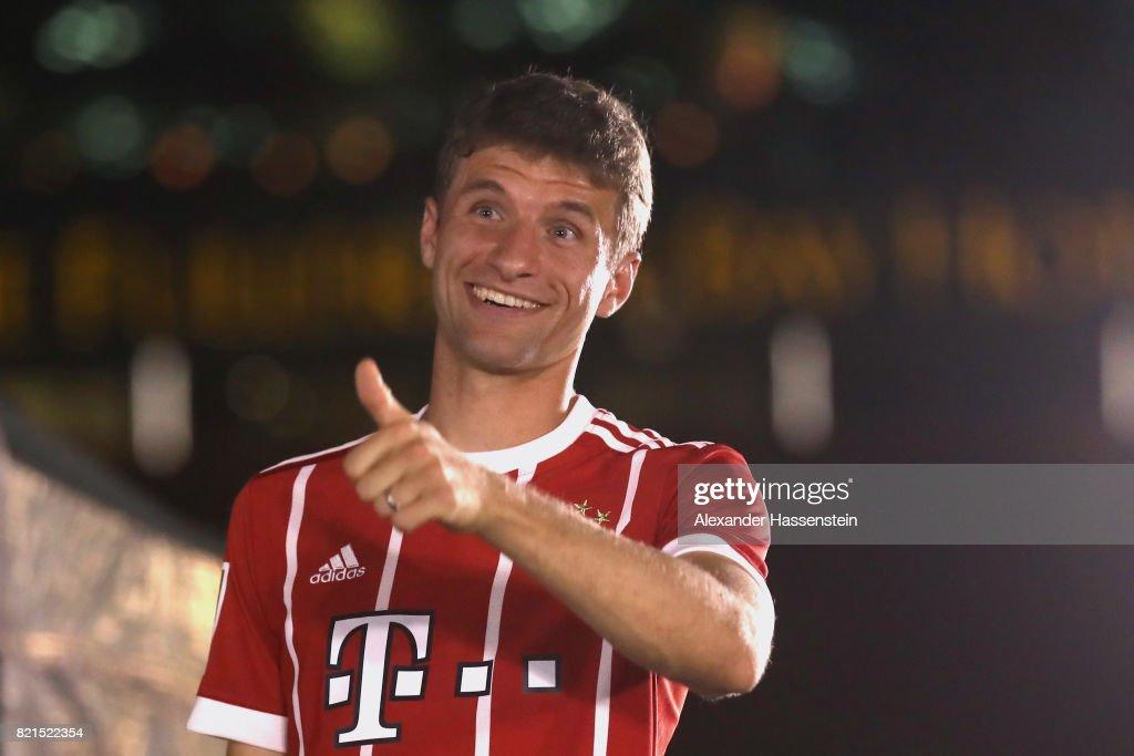 FC Bayern Muenchen Audi Summer Tour - Day 9 : News Photo
