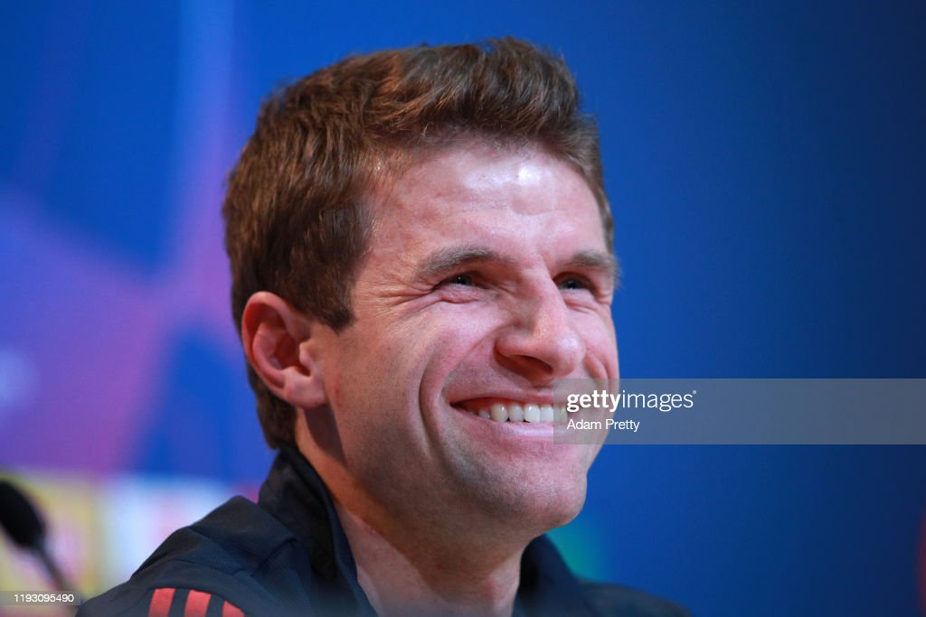 Bayern Muenchen - Press Conference & Training Session : News Photo