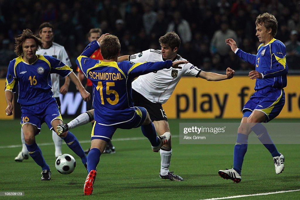 Kazakhstan v Germany - EURO 2012 Qualifier : News Photo