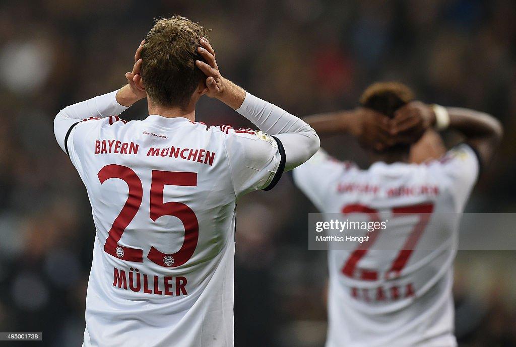 Eintracht Frankfurt v FC Bayern Muenchen - Bundesliga : Fotografía de noticias