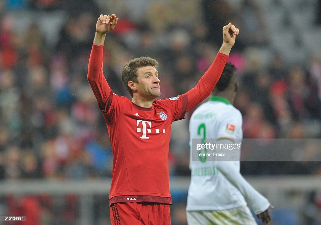 FC Bayern Muenchen v Werder Bremen - Bundesliga : News Photo