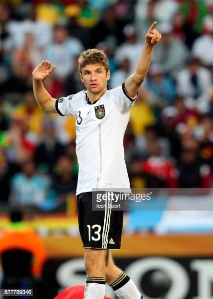 Thomas Muller Allemagne / Angleterre 8eme de Finale Coupe du Monde 2010 Mangaung Bloemfontein