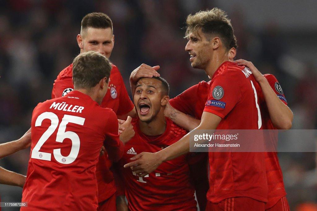 Bayern Muenchen v Crvena Zvezda: Group B - UEFA Champions League : Nachrichtenfoto