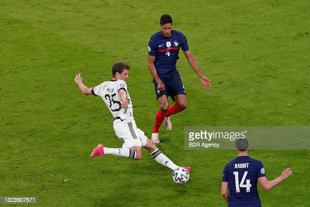 Thomas Muller of Germany during the UEFA Euro 2020 match between France and Germany at Allianz Arena on June 15, 2021 in Munich, Germany