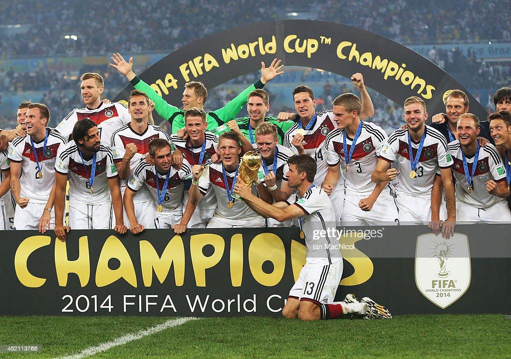Germany v Argentina: 2014 FIFA World Cup Brazil Final : ニュース写真