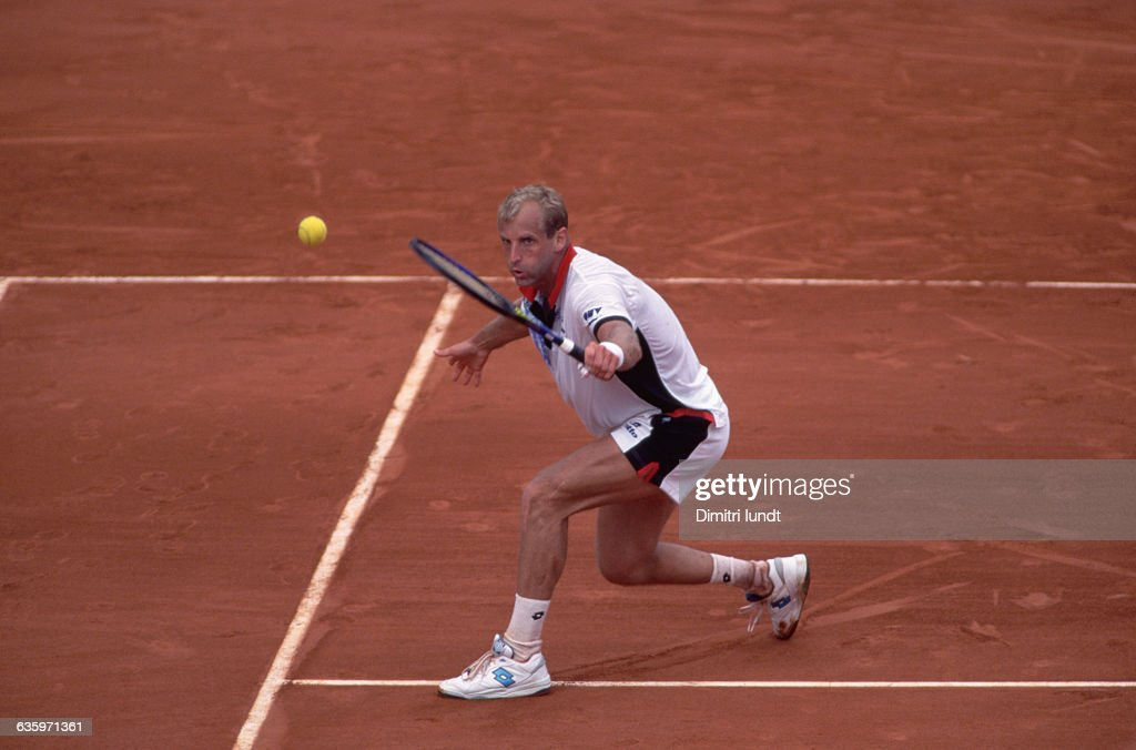 Thomas Muster at the French Open