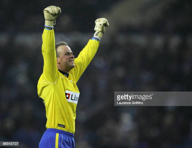 Thomas Myhre of Charlton Athletic during the FA Cup Third Round match between Sheffield Wednesday and Charlton Athletic on January 7 2006 at...