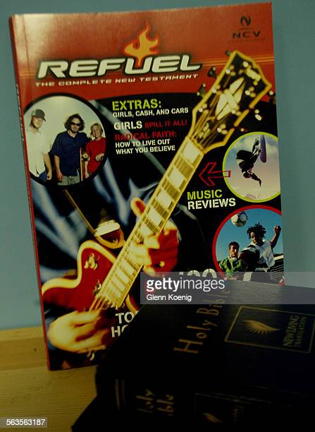 Thomas Nelson's new teen bible, Refuel for boys, does not look like a bible. It looks like a magazine, complete with skateboarders, music reviews,...