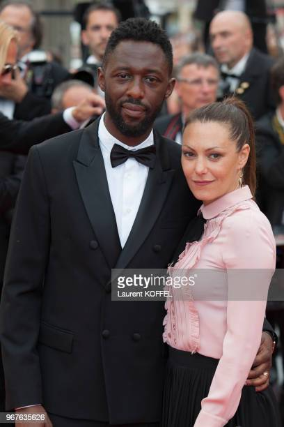Thomas Ngijol and Karole Rocher attend the Closing Ceremony during the 69th annual Cannes Film Festival on May 22, 2016 in Cannes, France.
