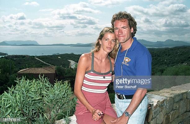 Thomas Ohrner Ehefrau Marion Urlaub Costa Smeralda Sardinien Italien Flitterwochen Panorama Meer Entertainer Schauspieler